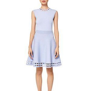 Ted Baker Kathryn Cutwork Knit Skater Dress